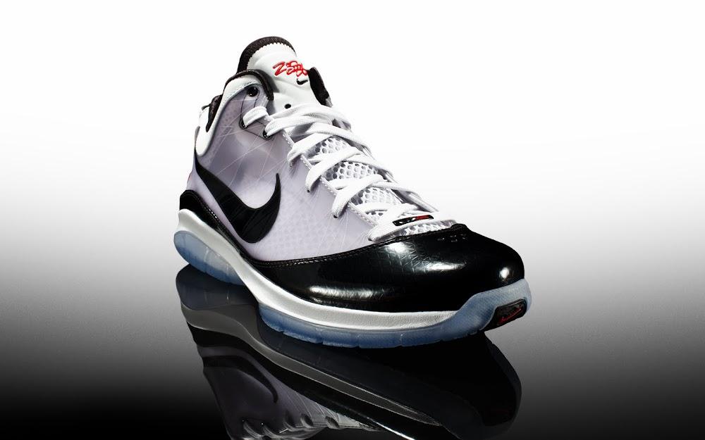 7e5223fd1894d Releasing Now  Nike LeBron VII P.S. POP White Black-Sport Red ...