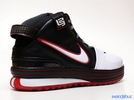 new products d7b56 41537 Classic Black-White-Red colorway in all its glory. If it wasn t for the L23  logo it could have been mistaken for a non-signature sneaker, but  simplicity is ...