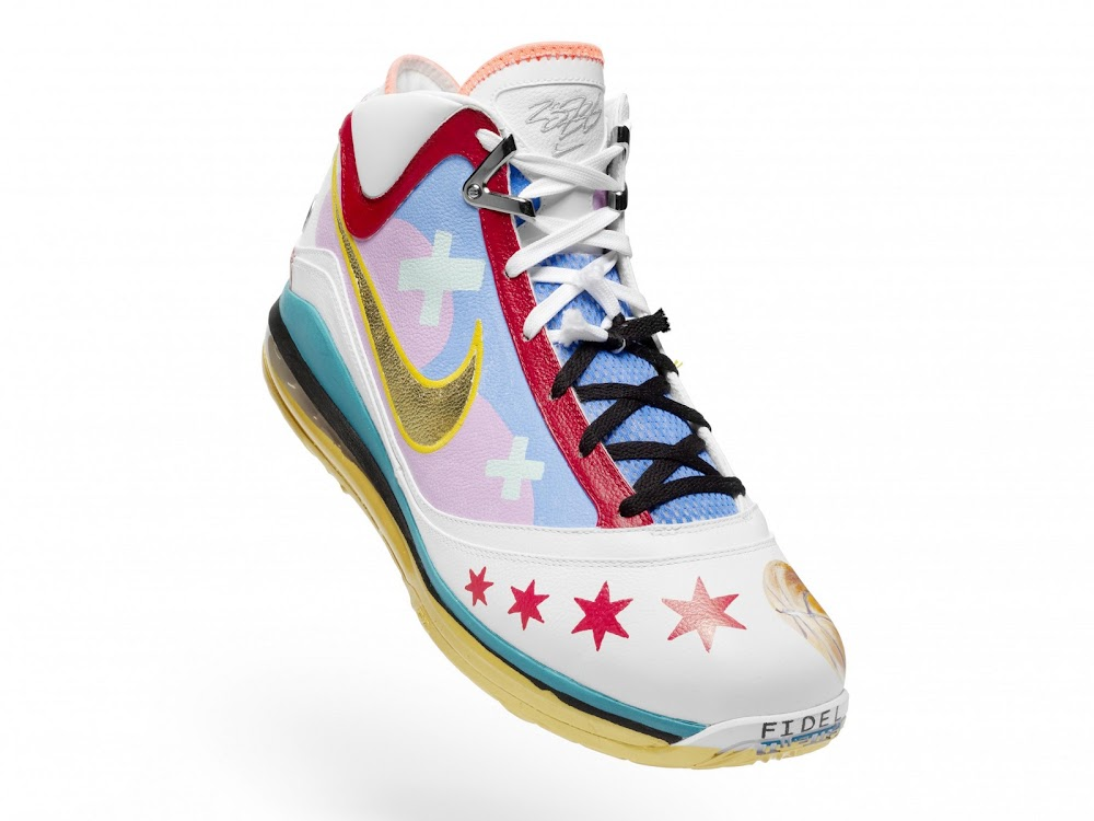 ... Nike Max LeBron VII Chicago Artist Series Collaboration ... a6ce53075