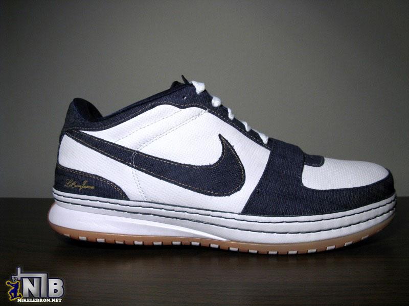 d3ee87630488 Nike Zoom LeBron VI Low White Navy Light Brown 8220Denim8221 ...