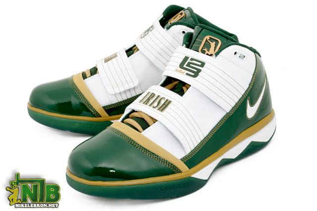 Detailed Look At The Svsm Nike Zoom Lebron Soldier Iii Irish