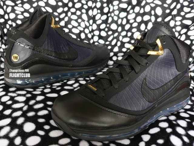 new product bb39f 1a415 Black Gold Nike Air Max LeBron VII Scheduled to Drop in December   NIKE  LEBRON - LeBron James Shoes