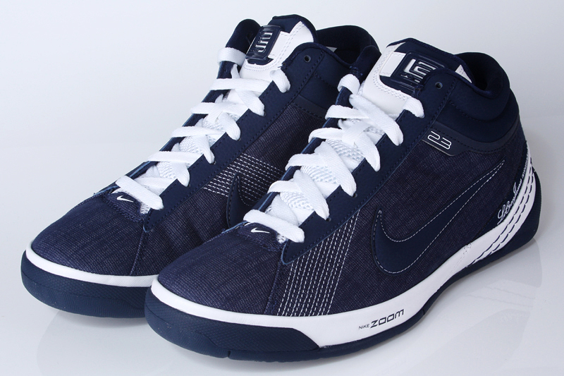 brand new 06101 92125 Upcoming Zoom LBJ Ambassador II Midnight Navy   White Denim   NIKE LEBRON -  LeBron James Shoes