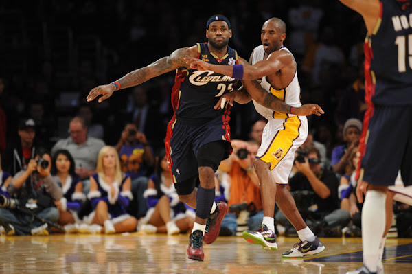 LeBron, Cavs Shine in Rout of Kobe, Lakers. LBJ Debuts the ...