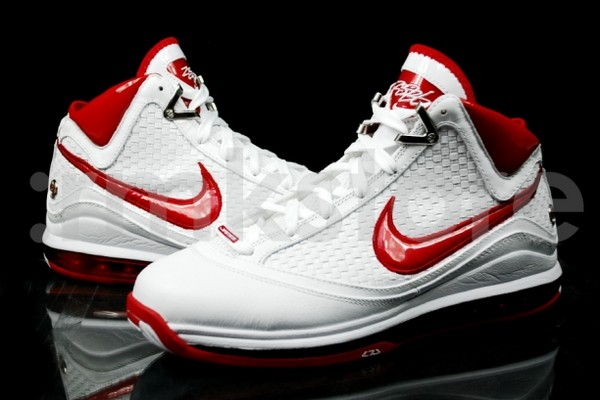 6342c1ff306 ... Nike Air Max LeBron VII NFW Woven WhiteRed Available Early ...