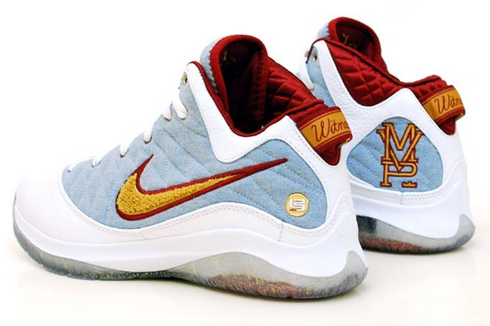 reputable site fe9a4 a466f Unreleased Nike LeBron VII PS NFW MVP PE 8211 Detailed Look ...