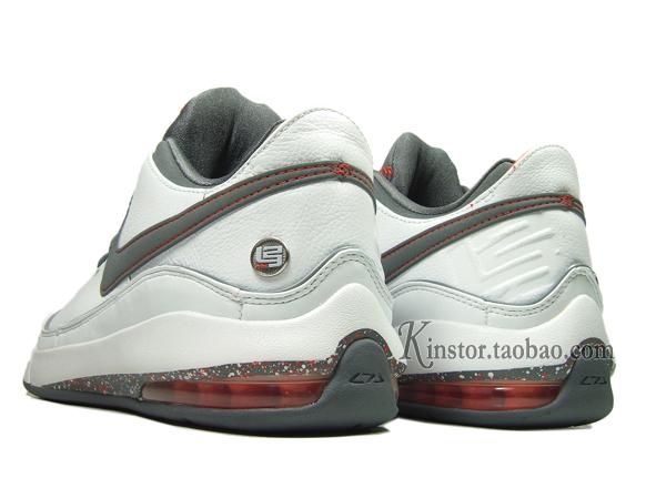 b27af803ffd5 Nike LeBron VII Low 395717-103 White Cool Grey-Team Orange
