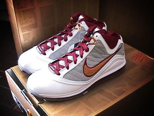 on sale 6d67f b0d94 Nike Air Max LeBron VII (7) MVP Quickstrike Packaging (Gold Box)   NIKE  LEBRON - LeBron James Shoes