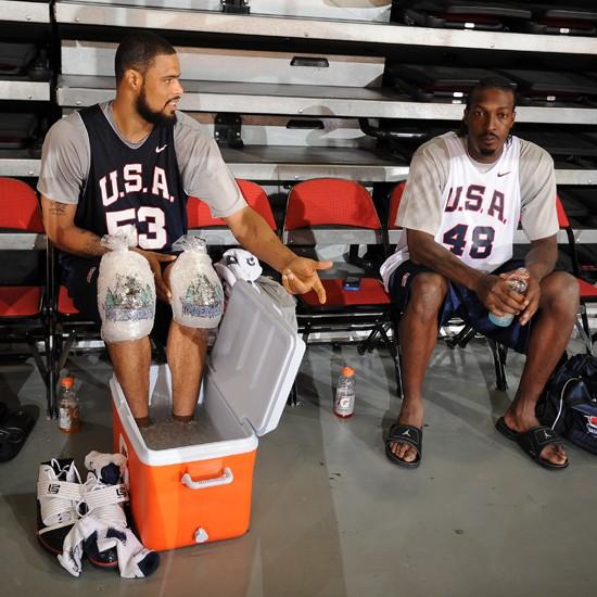 c593b900c7e4 Wearing Brons 8211 Tyson Chandler8217s Soldier III USA Basketball PE ...