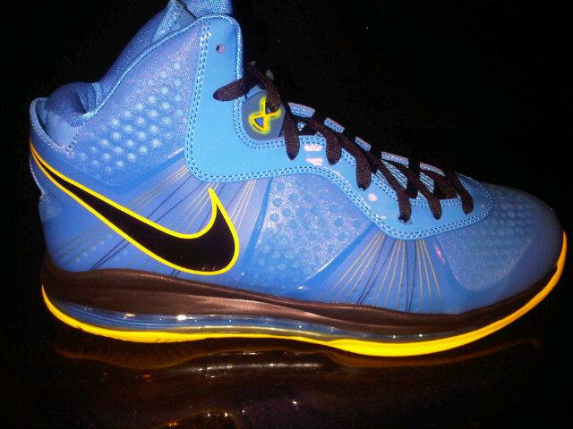 "38b5b82072262 ... Leaked  Nike Air Max LeBron V2 Blue Yellow Black ""Entourage"""