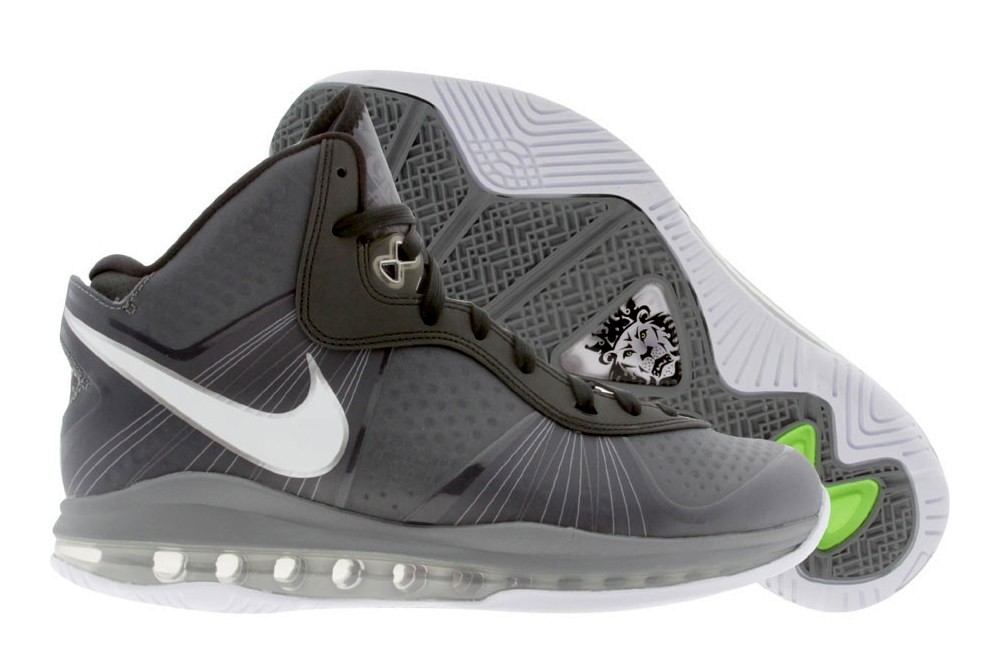 52e5840f36fc ... Cool Gre White-Dark Grey-Metallic Silver. LeBron 8 V2  8220PreDunkman8221 Arrives Early Compare with LBJ8217s PE ...