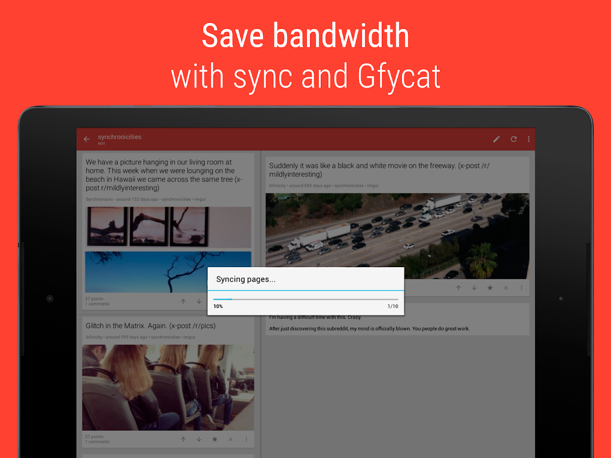 Sync for reddit (Pro)- screenshot