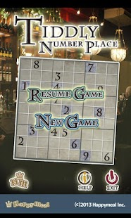 Number place-Tiddly Games- screenshot thumbnail