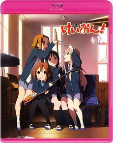 《轻音少女》蓝光 DVD 第一卷表纸公布,K-ON 少女也用 Twitter