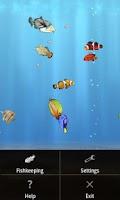 Screenshot of aniPet Marine Aquarium HD