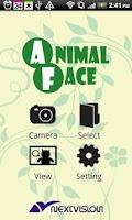 Screenshot of AnimalFace