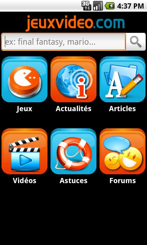 Jeuxvideo.com - screenshot