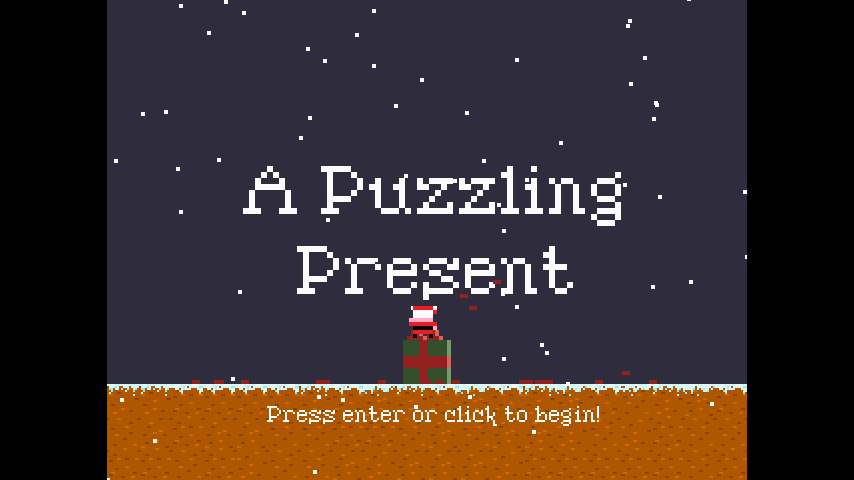 A Puzzling Present - screenshot