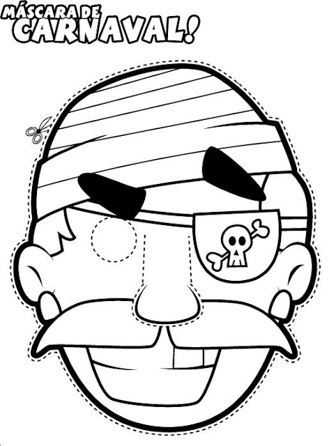 Cara De Pirata Para Carnaval