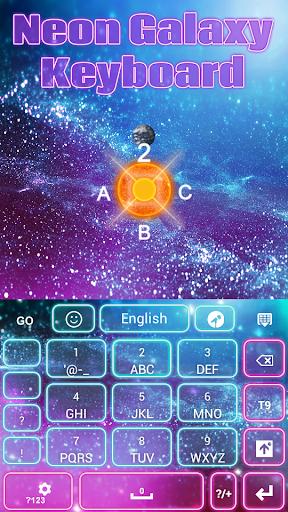 免費下載個人化APP|GO键盘霓虹灯银河 app開箱文|APP開箱王