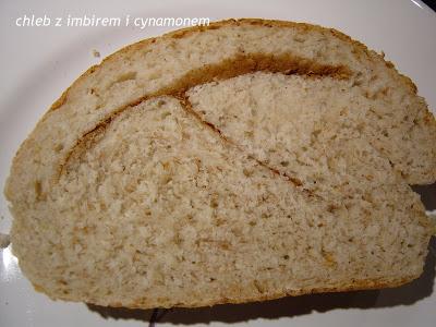 Chleb owsiany z imbirem i cynamonem