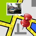 Photo Map Exif Gps Editor icon