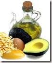 aceite oliva aguacate avena y huevo