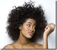 cabello afro reseco