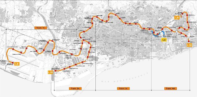 El Blog De La L9 Y L10 Del Metro De Barcelona Tramo I
