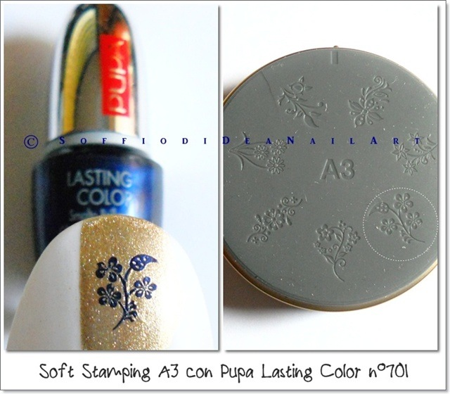 soft stamping pupa lasting color