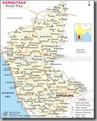 karnataka-road-map