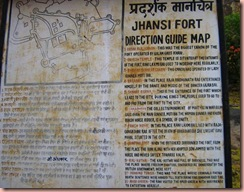 jhansi fort map
