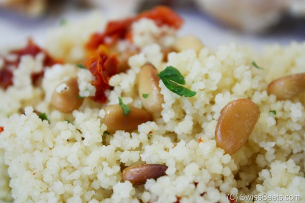 Toasted Pine Nut Couscous