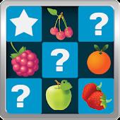 Fruits memory game