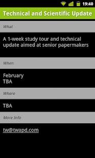 Paper Training Group Calendar- screenshot thumbnail