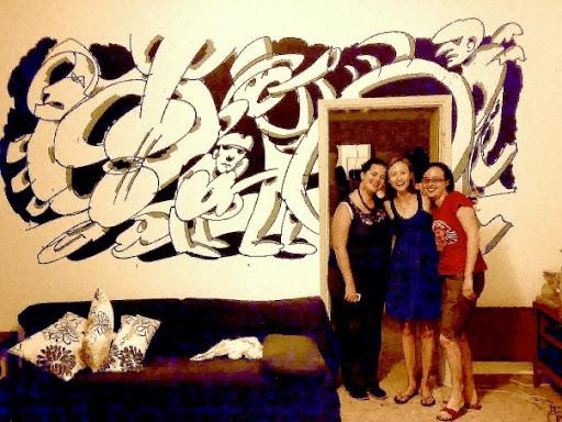 Phoebe, Jessica, and Elena.