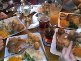 Sunday lunch at The Raven Inn