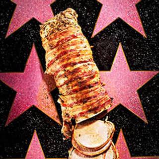 Bacon-Wrapped Pork Loin.