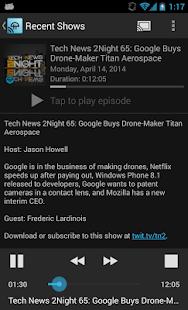TWiT Cast for Chromecast - screenshot thumbnail