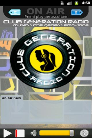 Club Generation Radio- screenshot