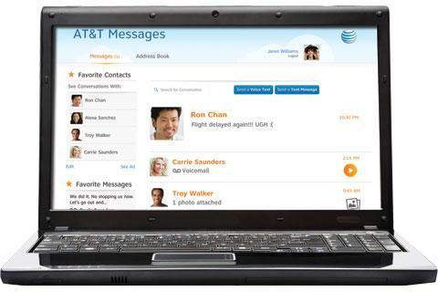 AT&T Messages for Tablet - screenshot