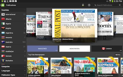 PressReader (preinstalled) Screenshot 24
