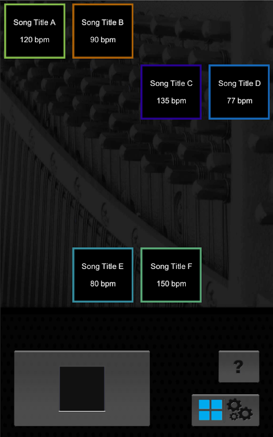 Downbeat Metronome- screenshot