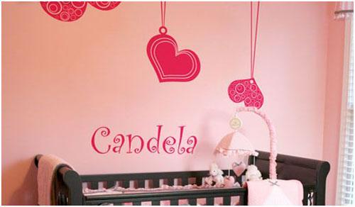 decoracion de habitaciones infantiles con adhesivos