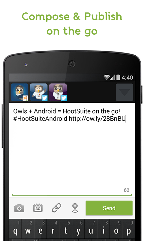 HootSuite (Twitter & Facebook) - screenshot