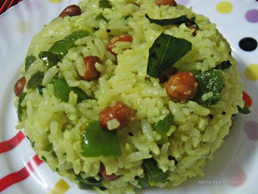 Capsicum Rice or Chitranna