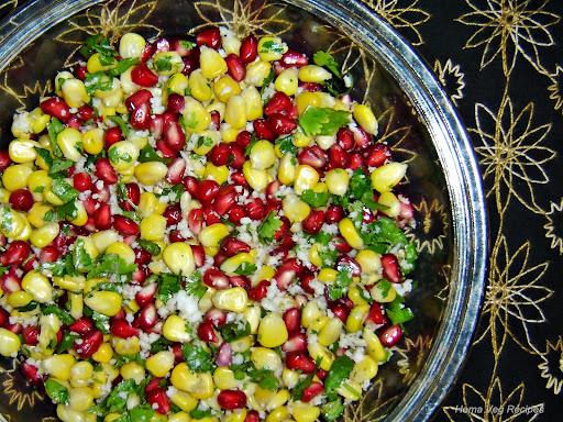 Corn Kosambari or Salad