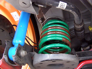 Yaris suspension