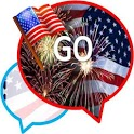 GO SMS THEME/july4th icon