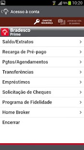 Bradesco Prime - screenshot thumbnail